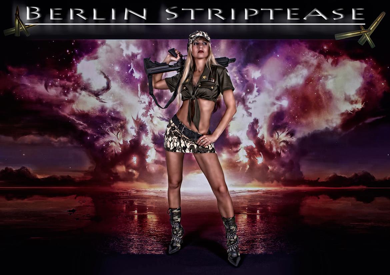 Stripperin als Army Girl buchen