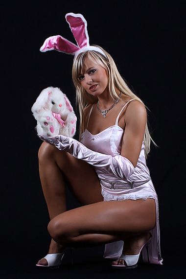 Stripperin als Bunny buchen - Chantal-Strip.com