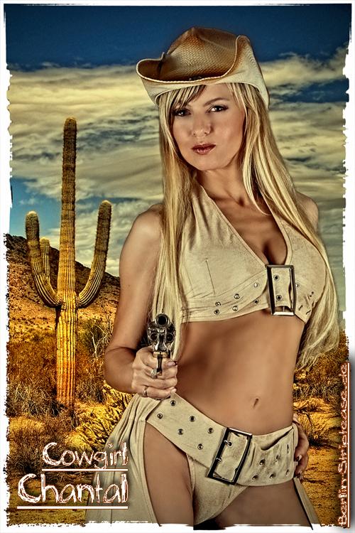 Stripperin als Cowgirl buchen